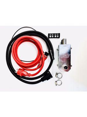 TT-THERMO 1000XC + miniplug-elementtikaapeli 1.5m+Defa -yhteensopiva 2.5m lämmitysjohto